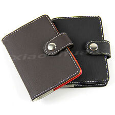 Synthetic Leather Business Name ID Credit Card Cases Wallet Holders New 20 Slots