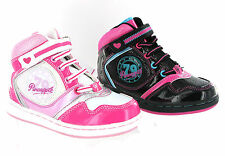Pineapple Lois Hi-Top Baseball Boots Lightweight Dance Girls Trainers Size 5-9