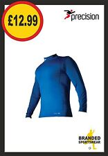 Precision Thermal Base Layer Turtle Neck Top Royal Kids Age 5 6 7 8 9 10 11 12