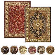 "Traditional Persian Border Area Rug 5x8 Oriental Carpet - Actual 5' 2"" x 7' 2"""