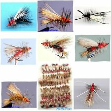 Premium Stimulator Dry Fly Fishing Flies - Your Choice of Color, Size & Quantity
