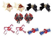 Sexy Lolita Hair Bow Clips Fascinator Storybook Costume Fancy Dress Cute Cosplay