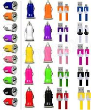 2-iN-1 BULLET MiCRO FLAT USB CAR CHARGER DATA CABLE for Nokia 2690 n Various