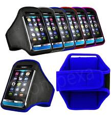 XL- GYM Running Armband Sports Case Cover Pouch + i-Headset For LG n HTC Various