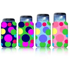 'POLKASPOTS' [L] Mobile Phone Pouch Case Cover Slip for SAMSUNG GALAXY S4 i9500