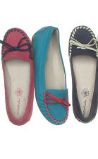 Womens Moshulu Mimosa Moccasin leather shoes