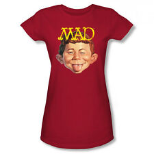 MAD Magazine Absolutely MAD Warner Bros. Officially Licensed Junior Shirt S-XL
