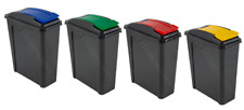 25L PLASTIC RECYCLING BIN KITCHEN GARDEN WASTE RUBBISH RECYCLE 25 LITRE HOME