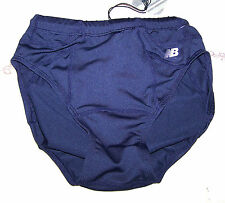 New New Balance Womens Team Brief Panty Shorts Navy Blue Cute Nice Adult Miss
