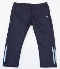 Adidas ClimaLite Formotion Black 3/4 Running Tights Cropped Capri Womans  NWT