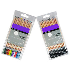 Daler Rowney Simply Pencils x 12 Sketching Pencils & Drawing Pencils