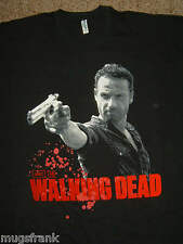The Walking Dead Tv Show Rick Grimes Pointing Gun T-Shirt