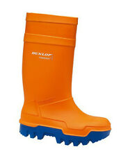 Dunlop Purofort Orange Thermo Plus -40 Insulation Safety Wellingtons Size 5-13