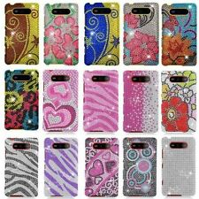For Nokia Lumia 820 Bling Gem Hard Cover Case Accessory