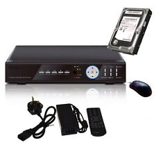 8 Channel h.264 Network CCTV Digital Video Recorder DVR Kit with 500GB/ 1TB HDD