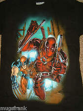 Deadpool and Wolverine X-Men Marvel Comics T-Shirt