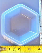 Paperweight jar top base resin craft mold crafting mould reusable plastic