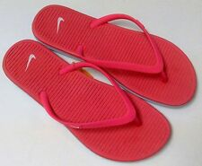 Nike 488161-612 Women's Solarsoft Thong II Flip Flop Pink All Size