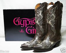New Gypsy Girl Leather Cowboy Boots In Different Styles & Sizes