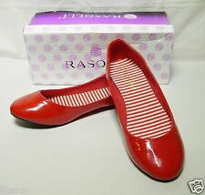 Rasolli Patent Women's Flats (new with defect)