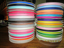 """3/8"""" Grosgrain, Ribbon, 10 yards, your color choice, New, hairbows, crafts"""