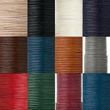 25 Yard Spool Round Genuine Goat Leather Bead Cord Cording For Beading & Jewelry