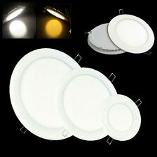 3W 4W 6W 9W 12W 15W 18W Bright LED Recessed Ceiling Panel Down Light Bulb Lamp