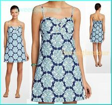 NWT $178 Lilly Pulitzer Adorable Rilee Bright Navy Hey Sailor Dress Style# 32831