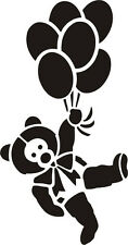 Bear Baloons Animal Vinyl Decal Sticker Window Wall Car Sign