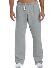 Mens Sweatpant-Gildan Heavy Blend Open Bottom, Elastic Waistband Sweatpant