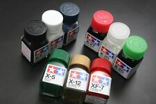 Tamiya Color Enamel Paint Matte 10ml XF-1 to XF-85 80301 - 80385 Japan Model Kit
