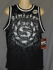 Sinister UFC MMA Boxing Tank Top Black Youth Sizes New Tags Workout Exercise