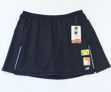 New Balance Black Stretch Running Skort Skirt with Attached Shorts Womans NWT