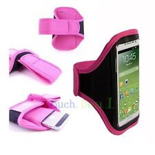PINK Running Sport Armband GYM Skin Case Cover for LG Optimus Cell Phones 2013