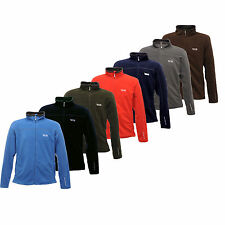 MENS REGATTA FULL ZIP ANTI-PILL FLEECE JACKET SIZES M - XXXXL farvw