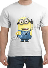 NEW DESPICABLE ME 2 SHORT SLEEVE MENS T SHIRT NOVELTY FUNNY TOP GREAT GIFT