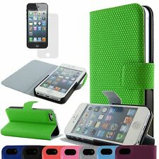 Hot Sale Magnetic Circles Flip Hard Full Case Cover Protect For Apple iPhone 5