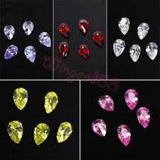 10pcs 3D Water Drop Shape Zircon Crystal For Nail Art Phone Cover DIY Decoration