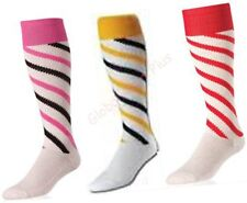 Socks Athletic All Sports Over the Calf Tube Men Candy Stripes Striped Twin City