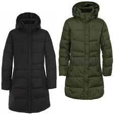 RRP £99.99 LADIES TRESPASS SILENT INSULATED LONG LENGTH HOODED JACKET SIZE S-XXL