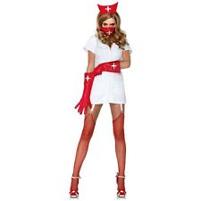 Psycho Nurse Sally Costume Adult Sexy Halloween Fancy Dress