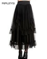HELL BUNNY Steampunk ELEANOR SKIRT Long Black Gothic/Lace All Sizes