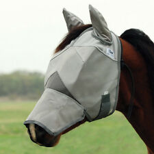 CASHEL CRUSADER FLY MASK - LONG NOSE WITH EARS - ALL STYLES - HORSE TACK