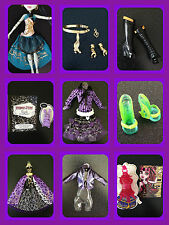MONSTER HIGH DOLL 13 WISHES CLOTHES, SHOES ACCESSORIES & MORE