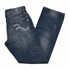 Rock & Republic Bootcut Jeans Henlee Stonewashed Blue New Mens Jean Denim New