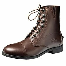 D752 DEVONAIRE LADIES SHOES BOOT NORTH PARK LACE PADDOCK - BROWN