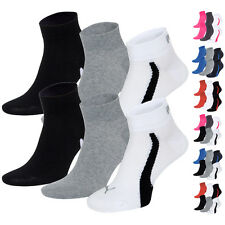 PUMA 201204001 Unisex Top Winner Quarters Socken Sportsocken Freizeit 6er Pack
