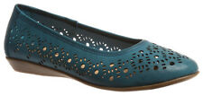 Ladies Shoes Grosby Jael Black, Blue or Red Great Summer Work Size 6-11 Wide Fit