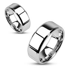 Mens Ladies 316L Stainless Steel Wedding Band Rings Many styles 6-13  FREE Ship