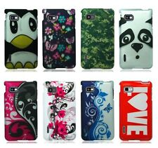 For LG Optimus F3 LS720 Cover Design Hard Snap On Case Accessory